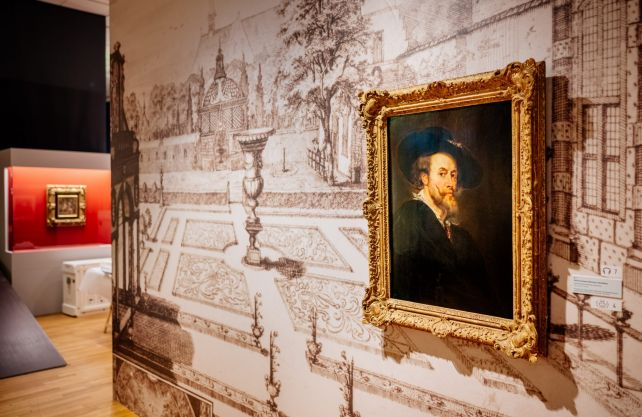 Peter Paul Rubens, Selbstbildnis, um 1625/30, Siegen, Siegerlandmuseum Foto: Förderverein des Siegerlandmuseums und des Oberen Schlosses e.V. Siegen