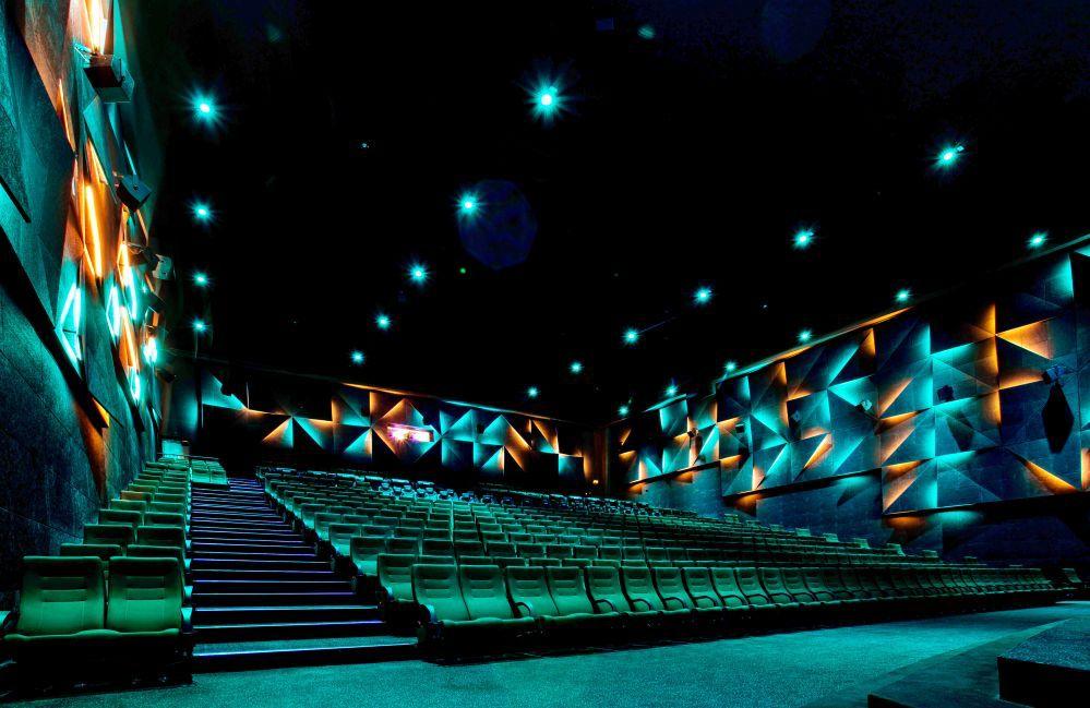 Ein leerer Kinosaal im Münsteraner Cineplex. Foto: Ina Esch Fotografie