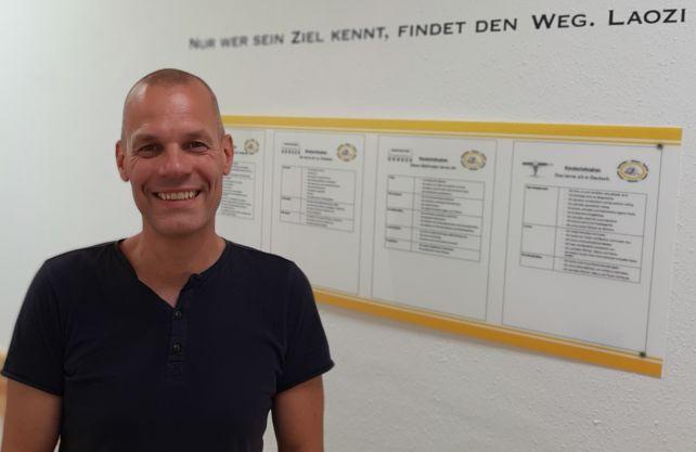 Frank Wagner, Rektor der Gebrüder-Grimm-Schule in Hamm. Foto: privat
