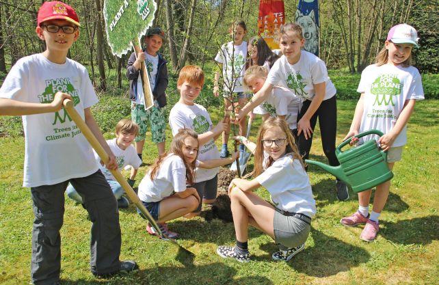 Die Organisation Plant-for-the-Planet erhält den Jugendpreis. Foto: Plant-for-the-Planet