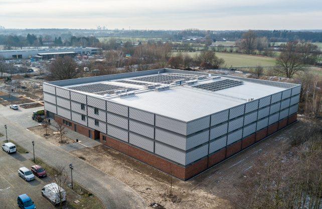 Das Zentralmagazin in Münster. Foto: LWL/Steinweg