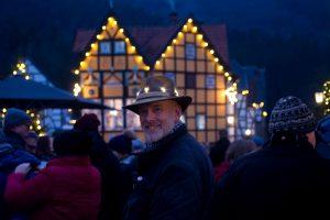 Der Romantische Weihnachtsmarkt im LWL-Freilichtmuseum Hagen. Foto: LWL