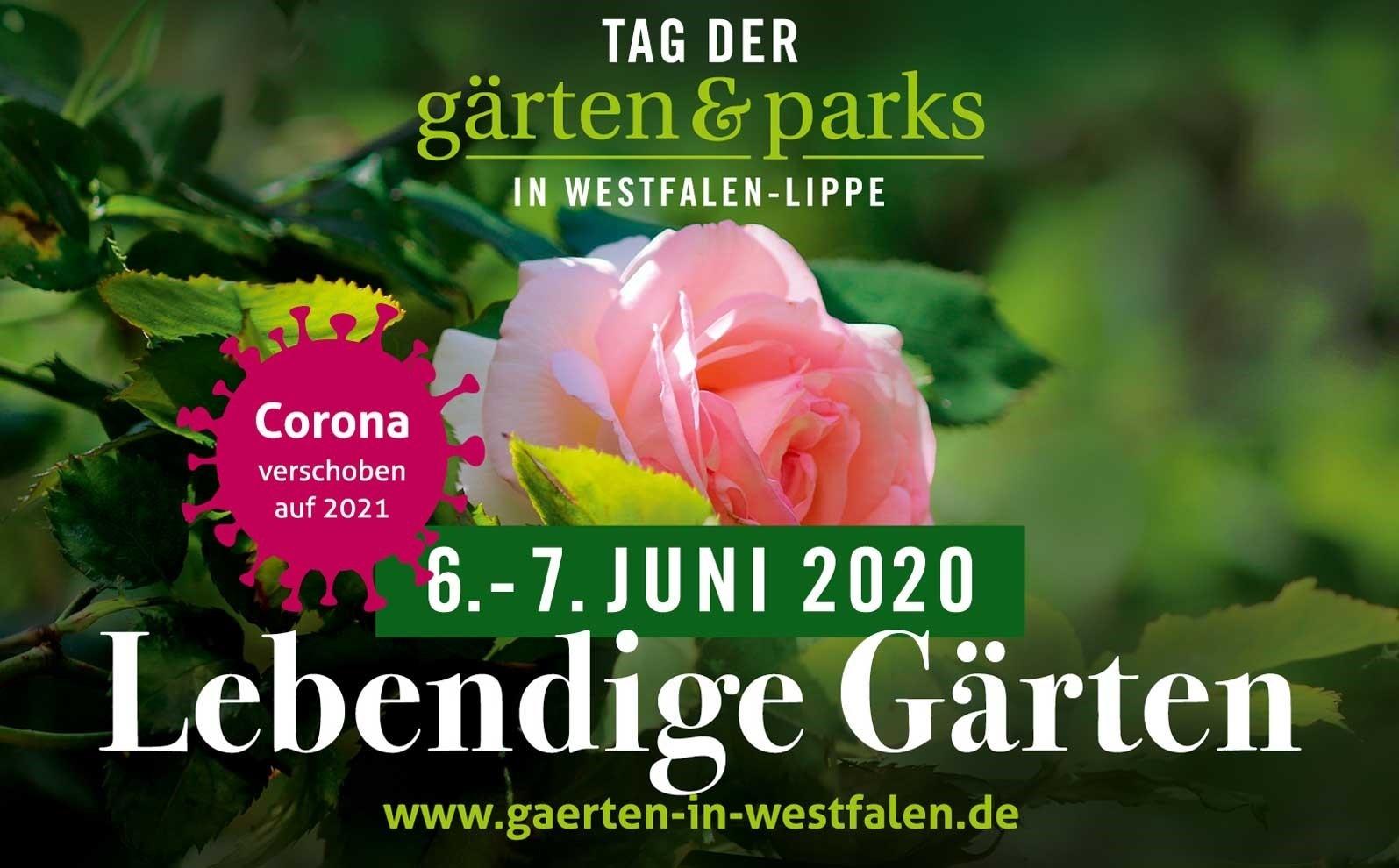 Der Tag der Gärten und Parks ist auf 2021 verschoben. Foto: LWL