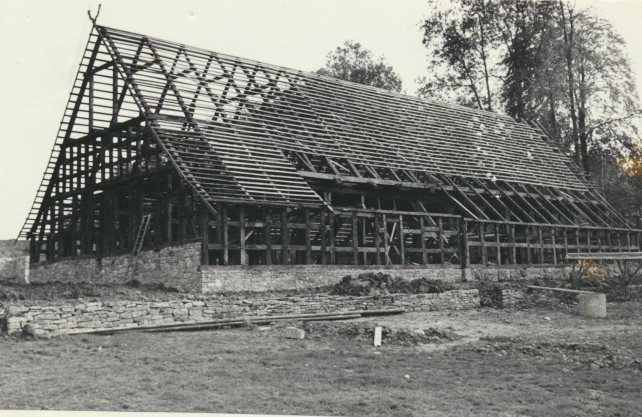 Der Osnabrücker Hof war das erste Aufbauprojekt des 1960 gegründeten und 1971 eröffneten Museums. Hier eine Aufnahme aus dem Jahr 1966. Foto: LWL