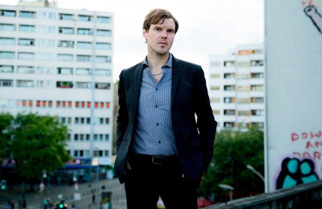 Autor und Musiker Thorsten Nagelschmidt. Foto: Harald Hoffmann