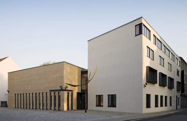 Die neue Synagoge in Gelsenkirchen. Foto: Architekturbüro Christfreund und Mihsler, Gelsenkirchen