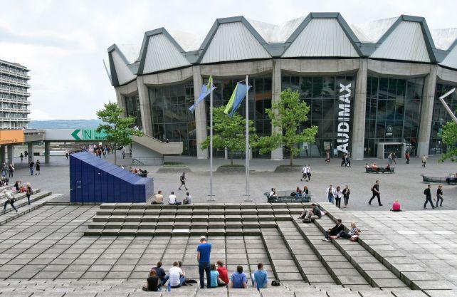 Der Audimax an der Ruhr-Universität Bochum. Foto: RUB
