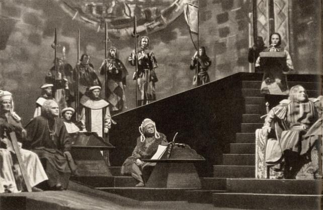 Historische Aufführung des Shakespeare-Stücks Heinrich VI. Foto: Stadtarchiv Bochum