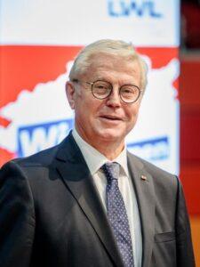Zum Vorsitzenden der LWL-Landschaftsversammlung wurde Klaus Baumann (CDU) aus Ennepetal (Ennepe-Ruhr-Kreis) gewählt. Foto: LWL/Tronquet