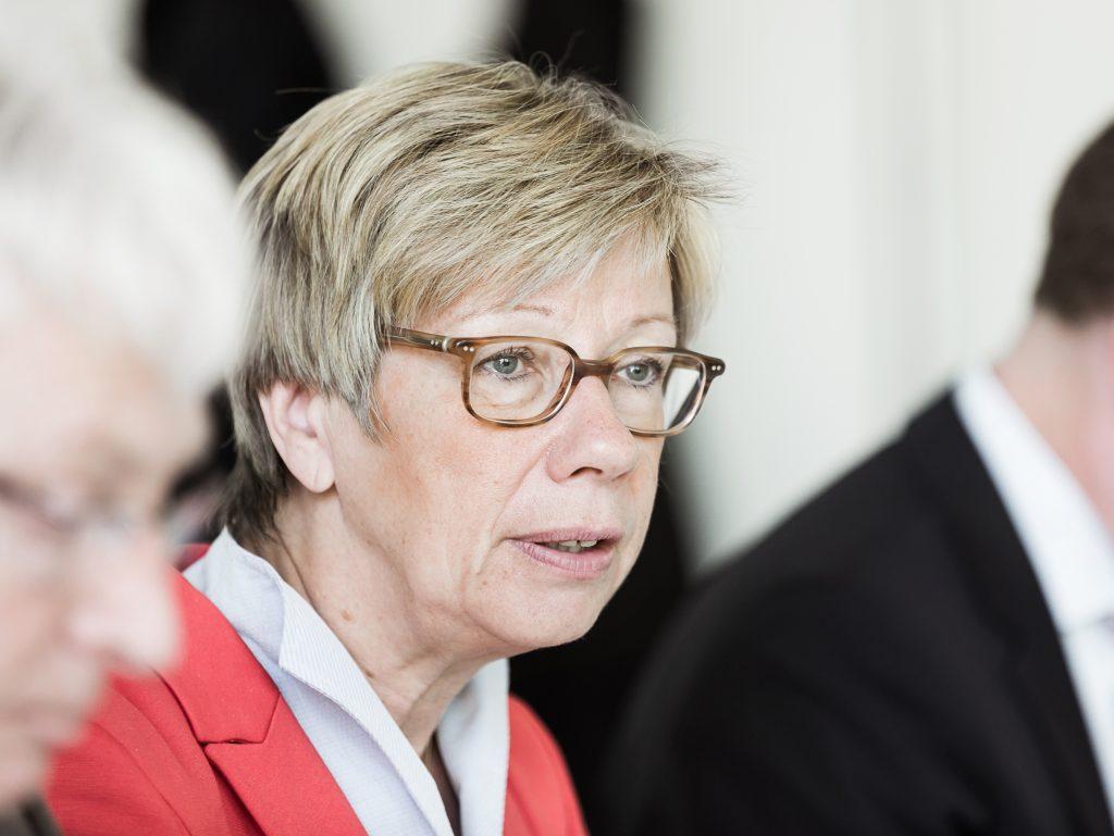 Die Präsidentin der FH Münster, Prof. Dr. Ute von Lojewski, plädiert für ein flexibles Studiensemester. (Foto: FH Münster/Benedikt Welscher)