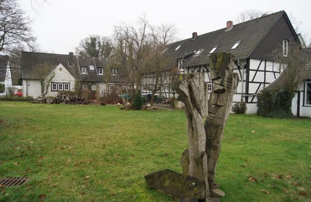 Die Künstlersiedlung Halfmannshof. Foto: Kiehl