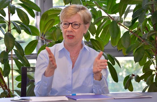 Prof. Dr. Ute von Lojewski, Präsidentin der FH Münster. Foto: Bröker