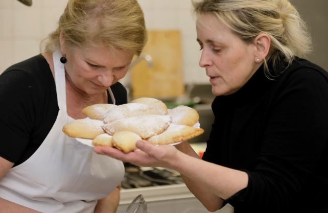 Auf den Spuren der jüdischen Küche –eine Veranstaltung am Europäischen Feiertag der jüdischen Kultur. Foto: Hermann Willers
