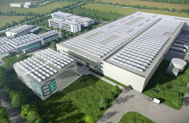 Der Enapter Campus soll mehr als 80.000 Quadratmeter umfassen. Grafik: Enapter