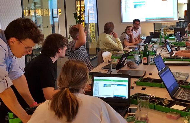 Eine digitale Werkstatt für alle: Das FabLab in Münster. / Foto: Schneidenbach