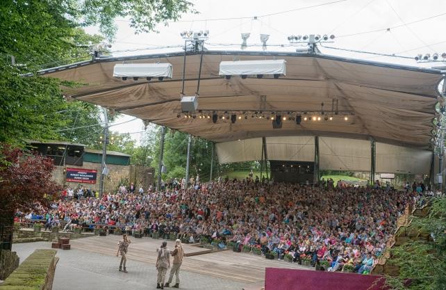 Erst 2021 wieder geöffnet: Die Freilichtbühne Tecklenburg. Foto: Freilichtspiele Tecklenburg / Stefan Grothus