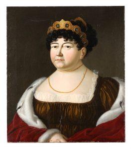 Die Fürstin in einer Darstellung von Ernst von Valentini. Foto: Lippisches Landesmuseum Detmold