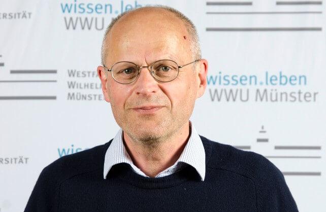 Prof. Dr. Christian Grethlein. Foto: WWU/Laura Grahn