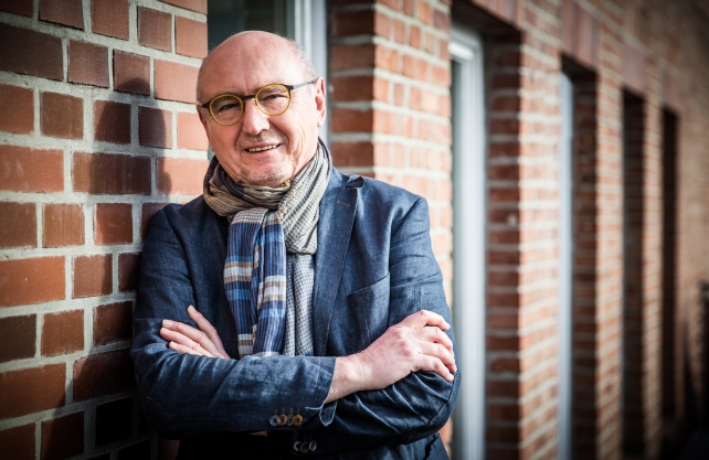 """Dr. Herbert Knorr leitet seit rund 20 Jahren das Festival """"Mord am Hellweg"""". Foto: Christina Förster"""