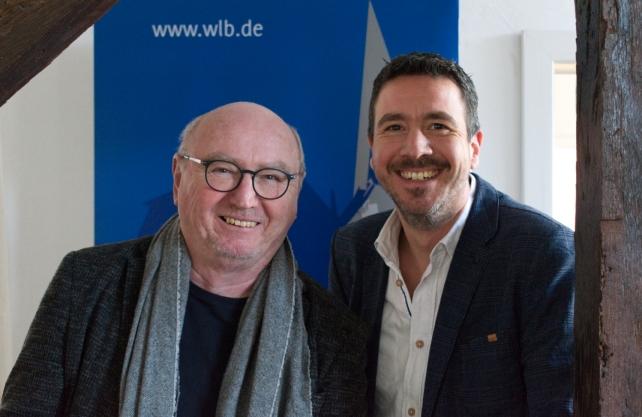 Herbert Knorr (links) zusammen mit seinem Nachfolger Heiner Remmert. Foto: wlb