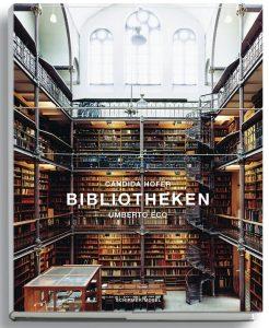 Bibliotheken – Mit einem Essay von Umberto Eco, 272 Seiten, 137 Farbtafeln, 49,80 Euro, ISBN 978-3-8296-0178-8