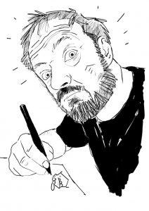 WESTFALENSPIEGEL-Cartoonist Holga Rosen. Bild: Holga Rosen