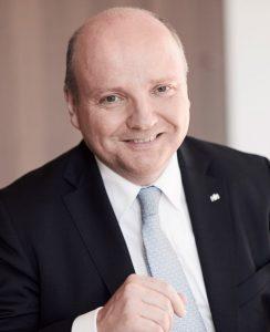 Dr. Benedikt Hüffer, Präsident der IHK Nord Westfalen.