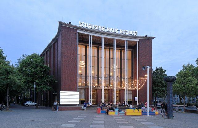 Im Schauspielhaus Bochum dürfen nur noch 162 von mehr als 800 Plätzen besetzt werden. Foto: Jürgen Landes
