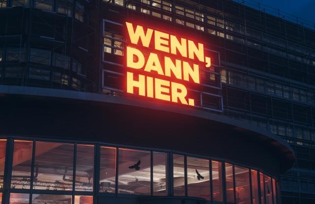 Das neue Motto der Marketing-Kampagne auf dem O-Werk in Bochum. Foto: Regionalverband Ruhr