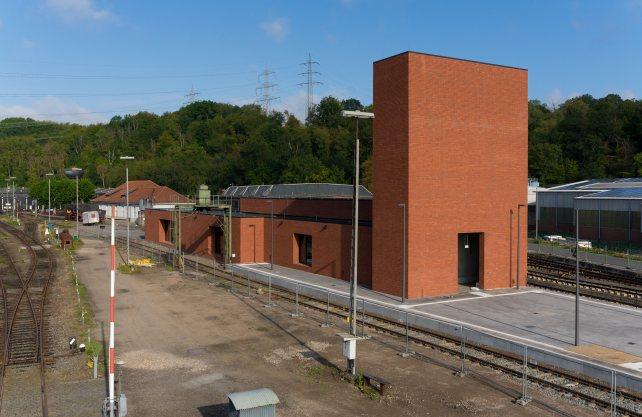 Eröffnung 2020: Das neue Besucherzentrum des Eisenbahnmuseums Bochum. Foto: Eisenbahnmuseum Bochum