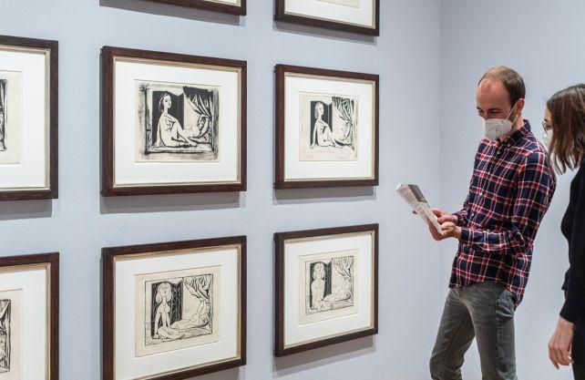 Neue Picasso-Ausstellung im Picassso-Museum. Foto: Hanna Neander, Picasso-Museum
