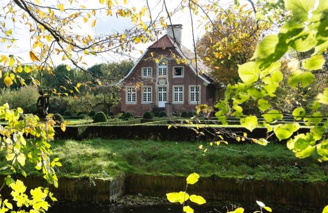 Das Haus Rüschhaus am Rand von Münster. Foto: Sabrina Richmann
