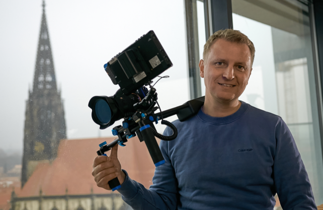 Filmemacher Simon Jöcker aus Münster. Foto: Jöcker