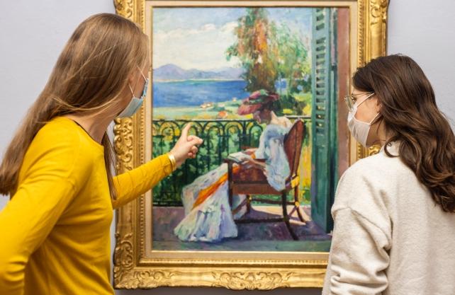 Matisse und seine Künstlerfreunde stehen im Mittelpunkt der Ausstellung im Picasso-Museum in Münster. Foto: Hanna Neander
