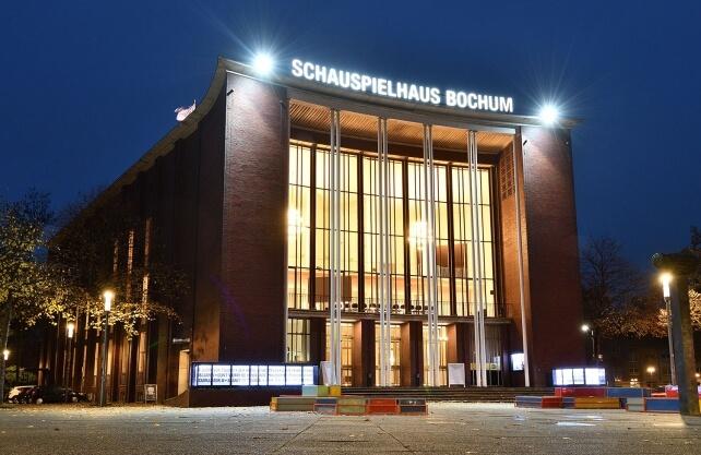 Aktuelle Ansicht des Schauspielhauses. Foto: Stadt Bochum