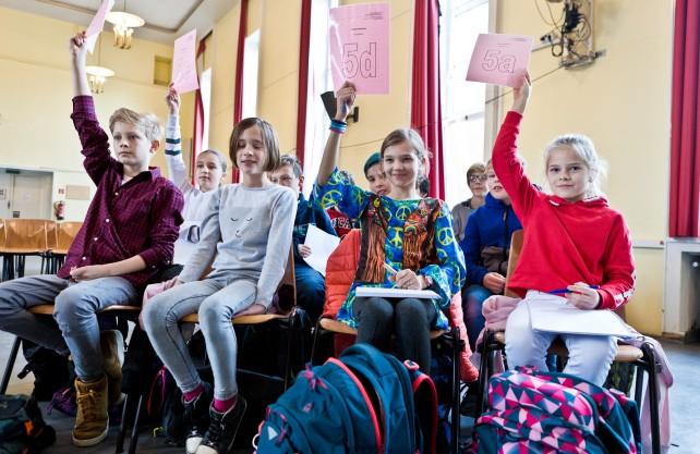 Ebenfalls ausgezeichnet: Die Schiller-Schule aus Bochum. Foto: Robert Bosch Stiftung / Traube 47