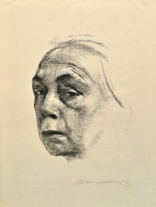 Ein Selbstbildnis von Käthe Kollwitz von 1924. Foto: ahlers collection
