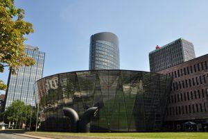 Die Stadt- und Landesbibliothek in Dortmund. Foto: Stefanie Kleemann