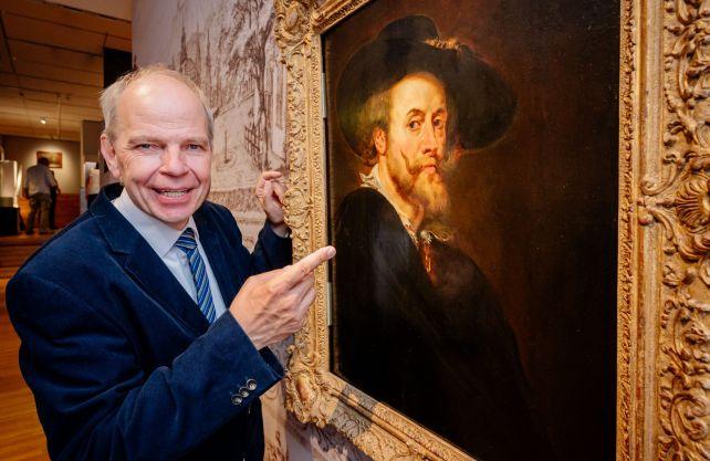 Prof. Christoph Stiegemann verabschiedet mit sich der aktuellen Rubens-Ausstellung als Direktor des Erzbischöflichen Diözesanmuseums. Foto: Diözesanmuseum Paderborn/Besim Mazhigi