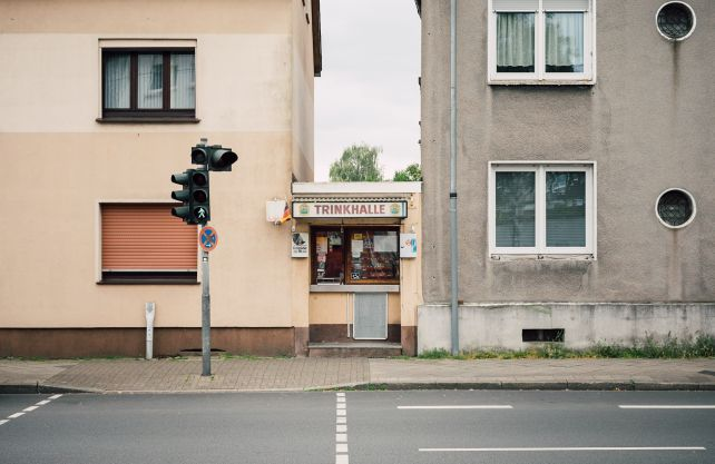 "Trinkhalle als ""Lückenfüller"": Den Kiosk Müller hat Reinaldo Couddou H. 2017 in Bochum-Wattenscheid entdeckt. Foto: Reinaldo Coddou H."