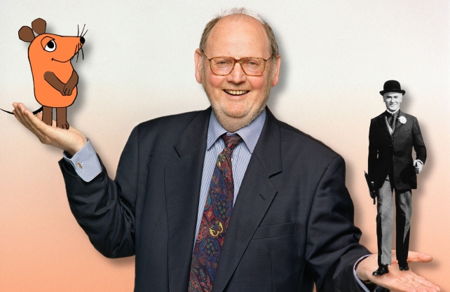 Ein Vater des grenzüberschreitenden Kinderfernsehens: Gert K. Müntefering. Foto: WDR/Gaby Winkler