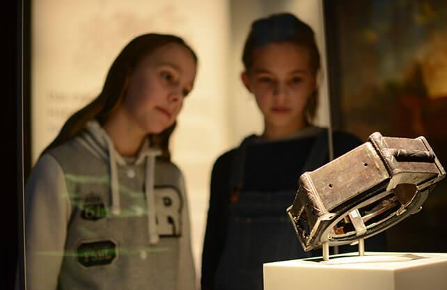 Das eiserne Halsband des Lambert von Oer. / Foto: Bröker