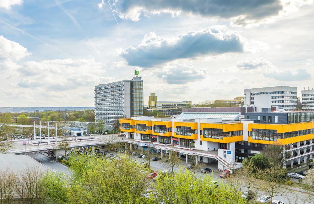 Das Gelände der TU Dortmund. Foto: Roland Baege / TU Dortmund