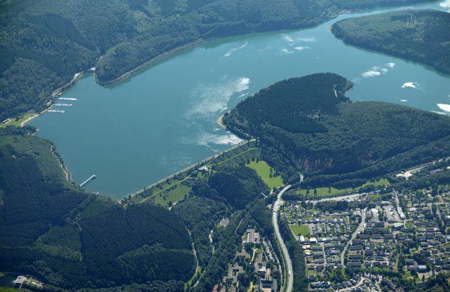 Die Biggetalsperre ist die größte Talsperre des Ruhrverbands. Foto: Ruhrverband