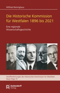 Cover des neuen Bands zum Jubiläum der Historischen Kommission. Foto: Aschendorff Verlag