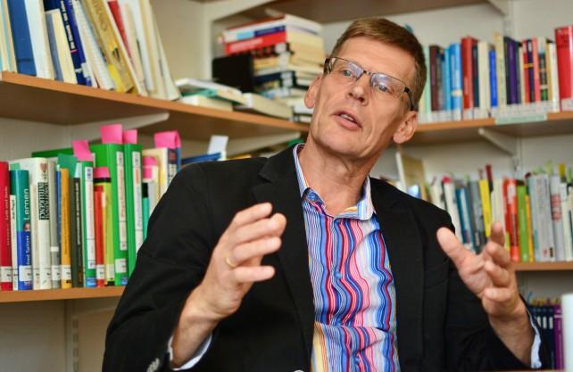 Sporttreiben verfolgt immer einen Zweck, sagt Prof. Dr. Michael Krüger. Foto: Jürgen Bröker