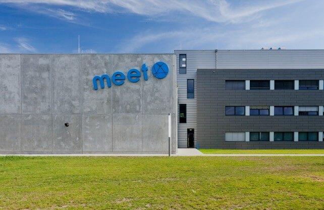 Zentrum der Batterieforschung in Westfalen: Das MEET in Münster. Foto: Julia Kraft