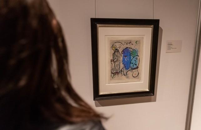 """Die Sonderausstellung """"Dreigestirn der Moderne"""" ist noch bis Februar 2020 zu sehen. Foto: Artwork-Hövelmann"""