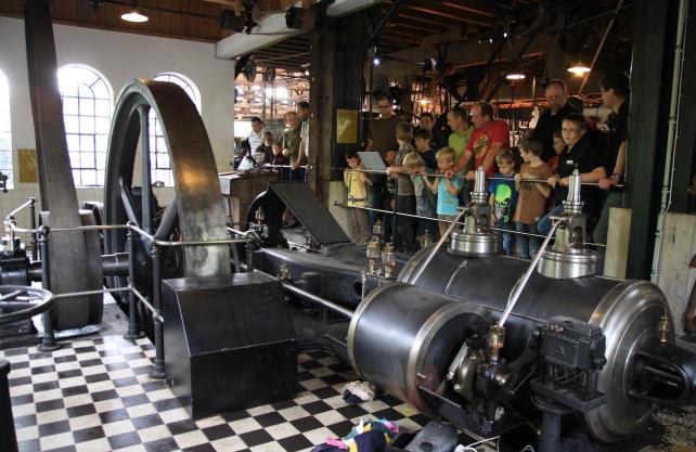 Das Technikmuseum präsentiert unter anderem eine Dampfmaschine. Foto: Technikmuseum Freudenberg